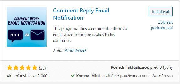 Comment Reply Email Notification