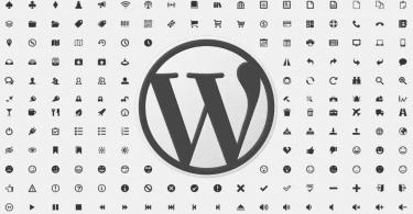WordPress Dashicons
