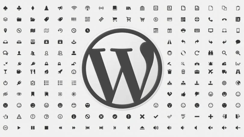 WordPress Dashicons