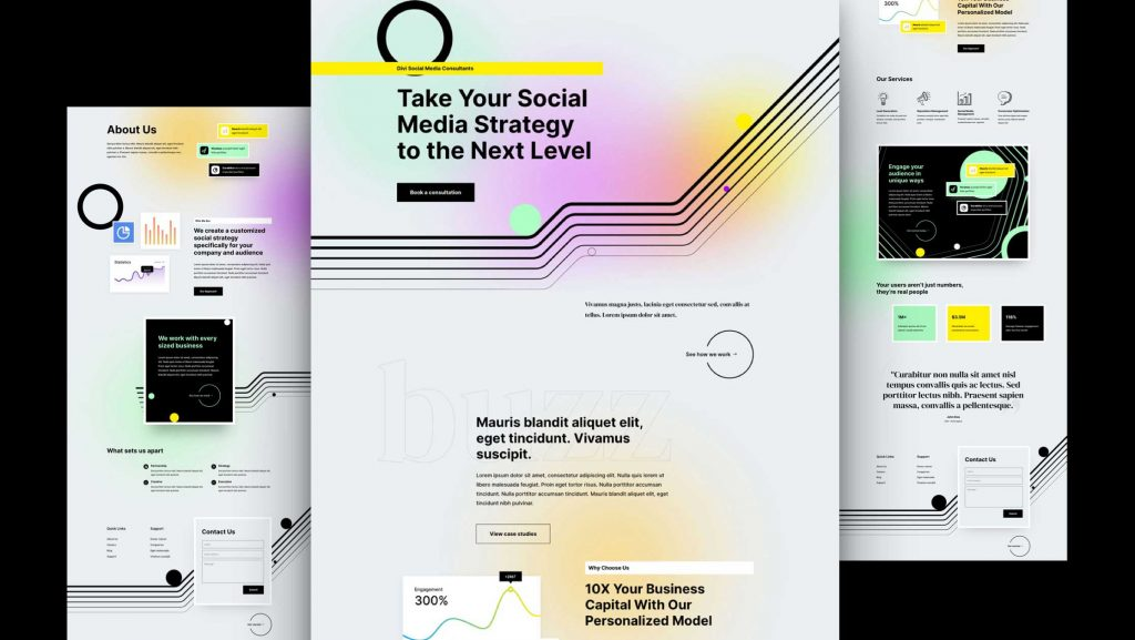 Social Media Consultant layout pack featured image